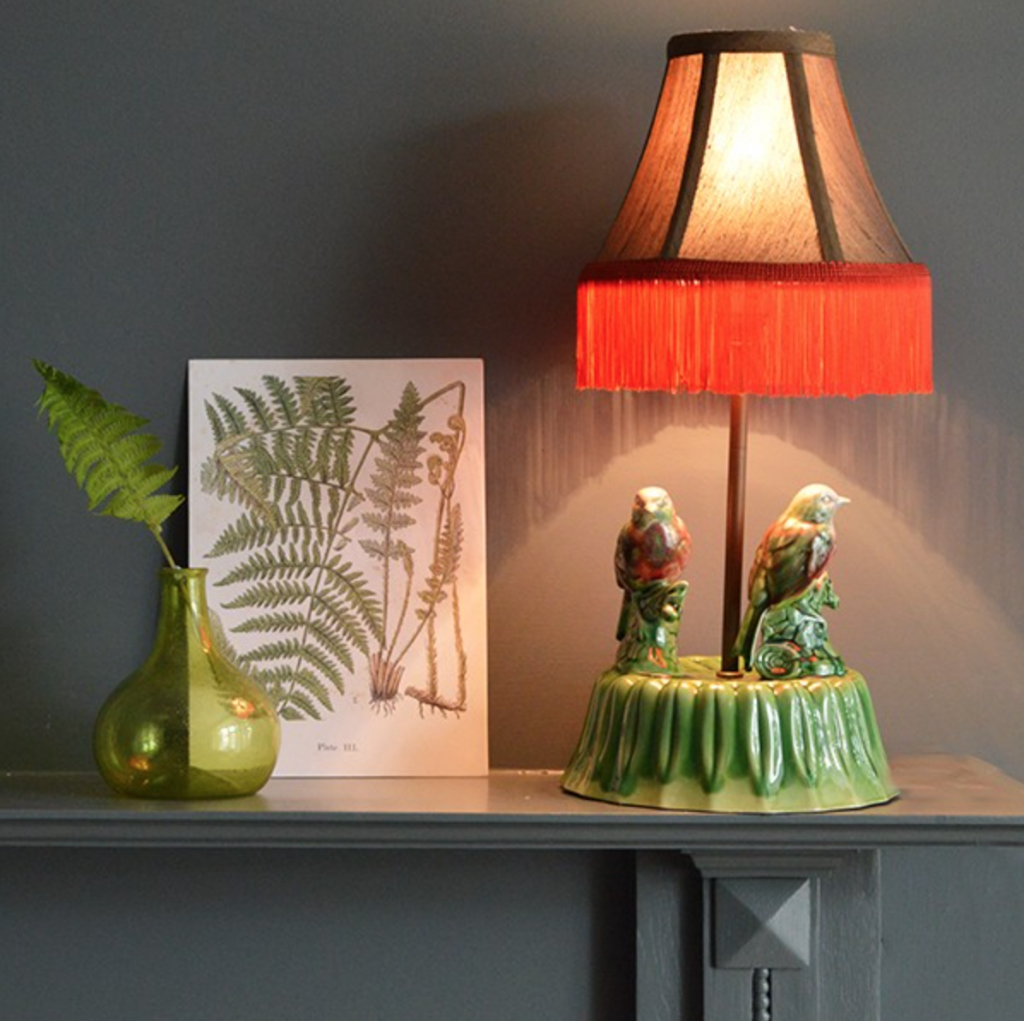 LOVE this! Birds of paradise lamp £250.00
