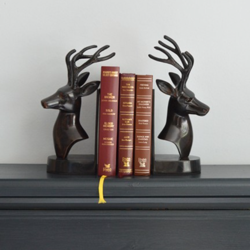 Stag bookends £85.00