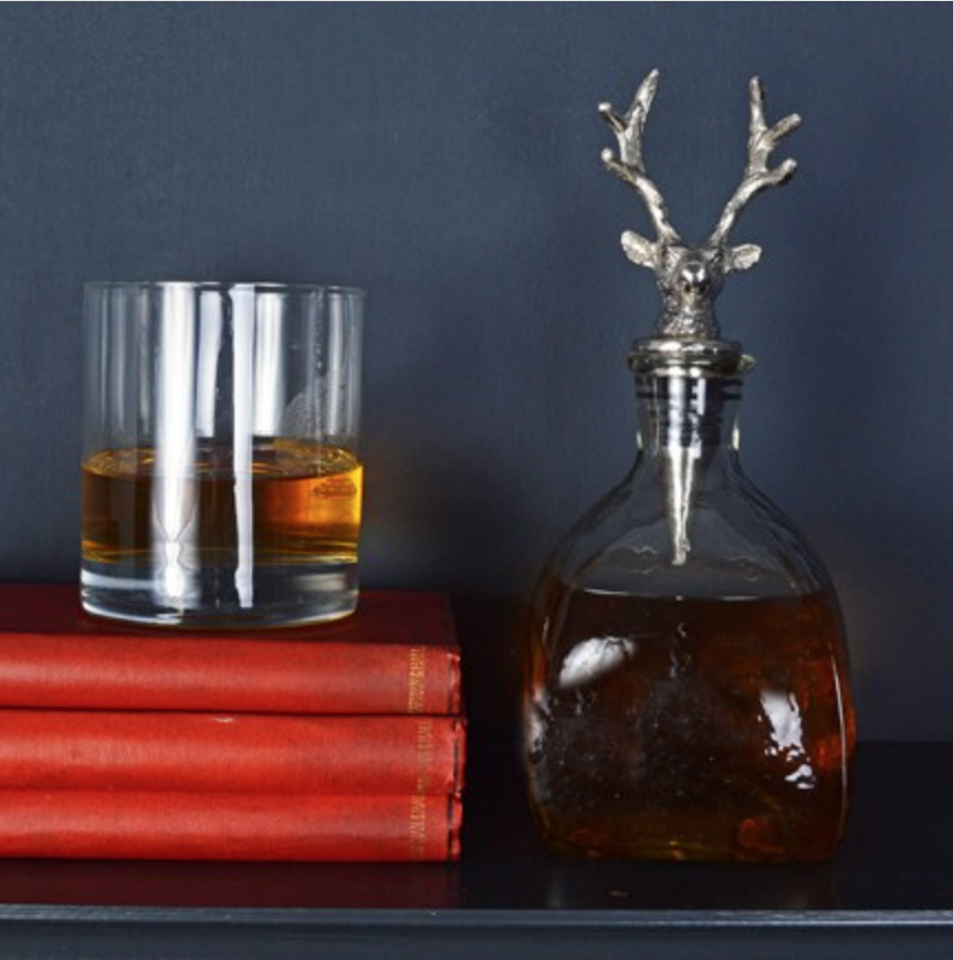 Stag whiskey decanter £35.00