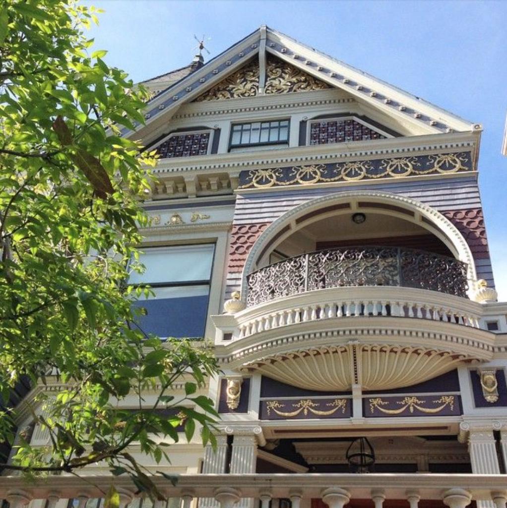 San Francisco balcony