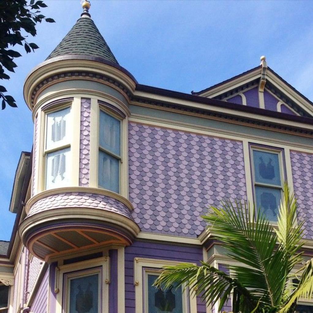 San Francisco purple house