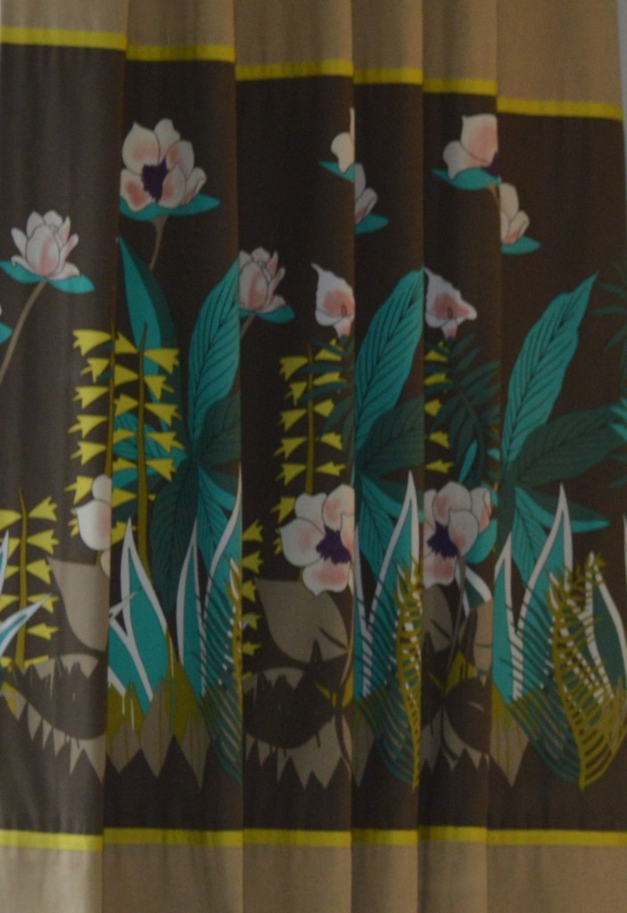 The Kenzo fabric used in the other room that I needed to co-ordinate with