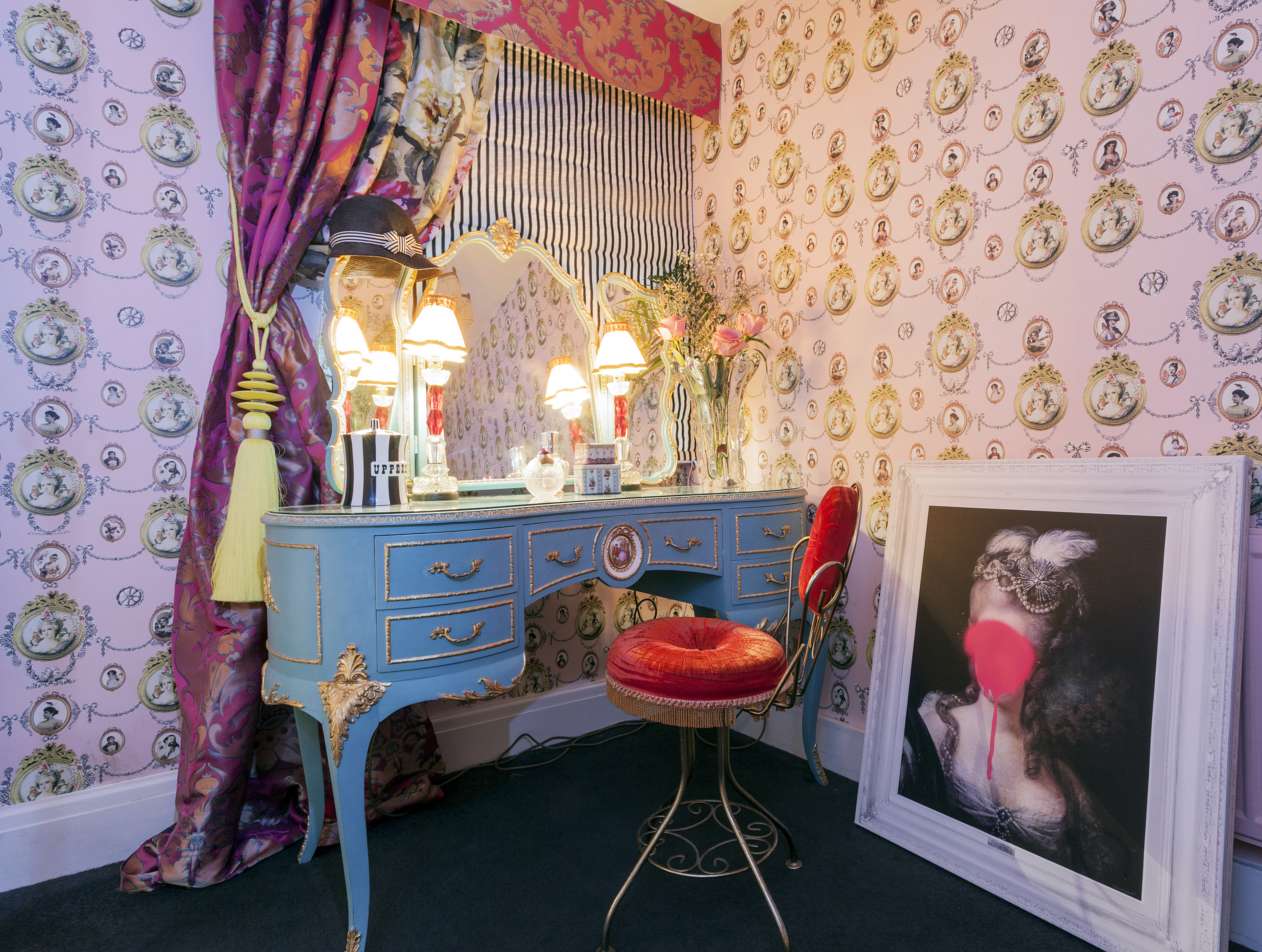 Marie Antoinette Inspired Bedroom 9 Steps To Creating A Punked Up French Style Boudoir Carnival Of