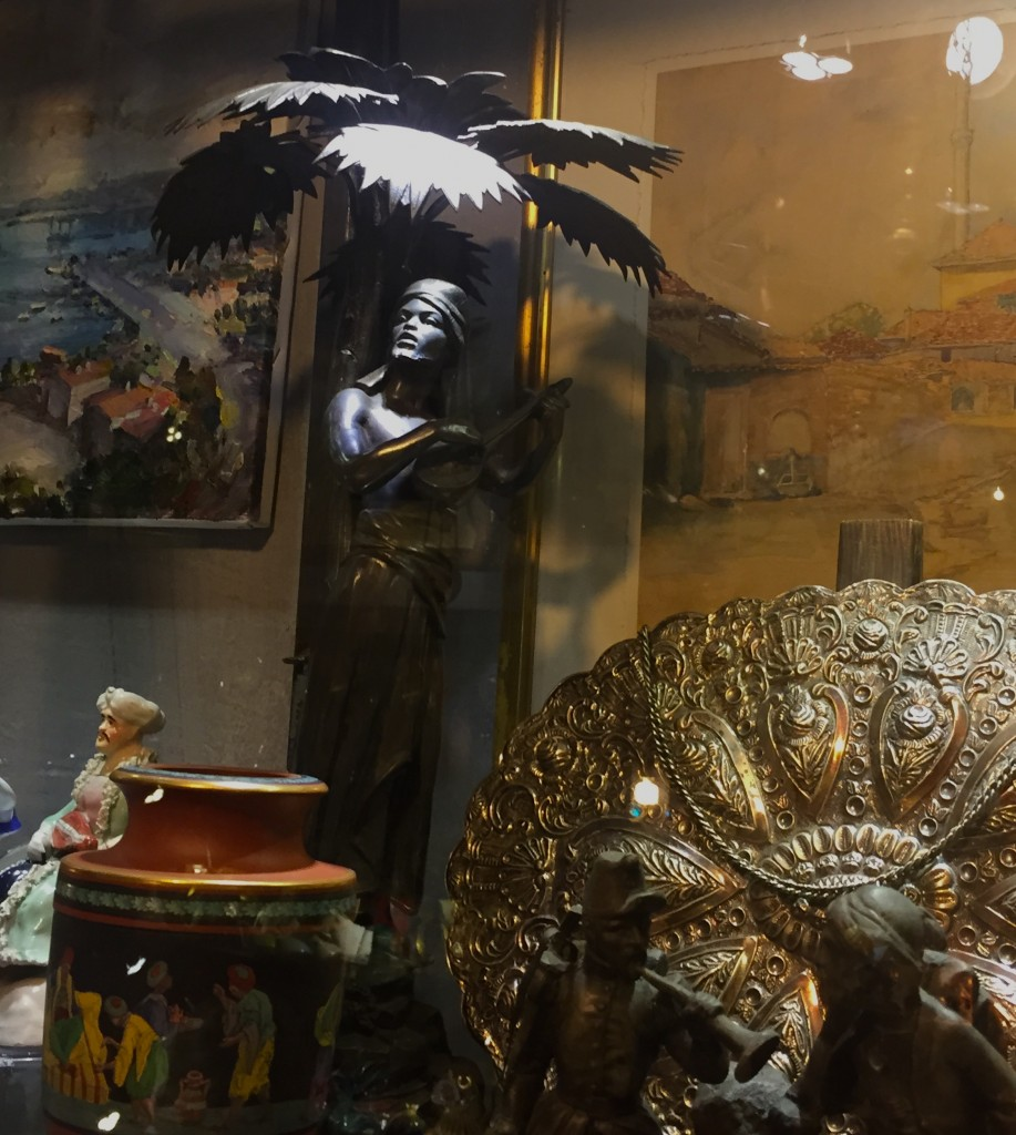 The wonderful antique shop in Turkey, full of gorgeous Persian things