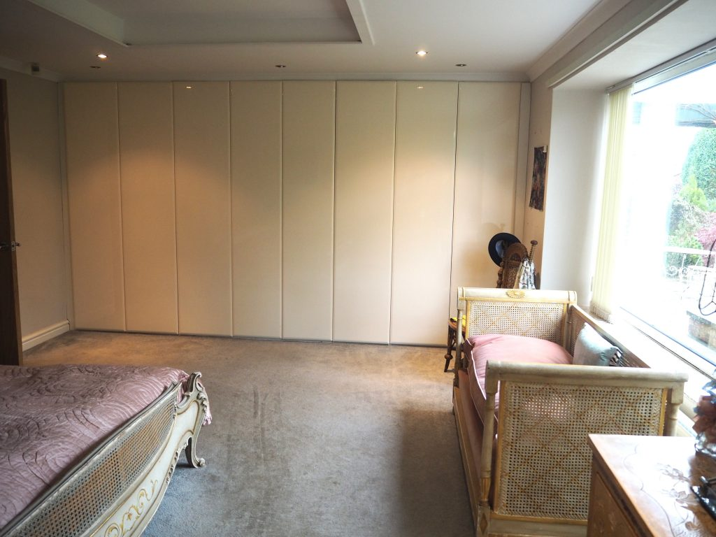 Master bedroom built in wardrobes