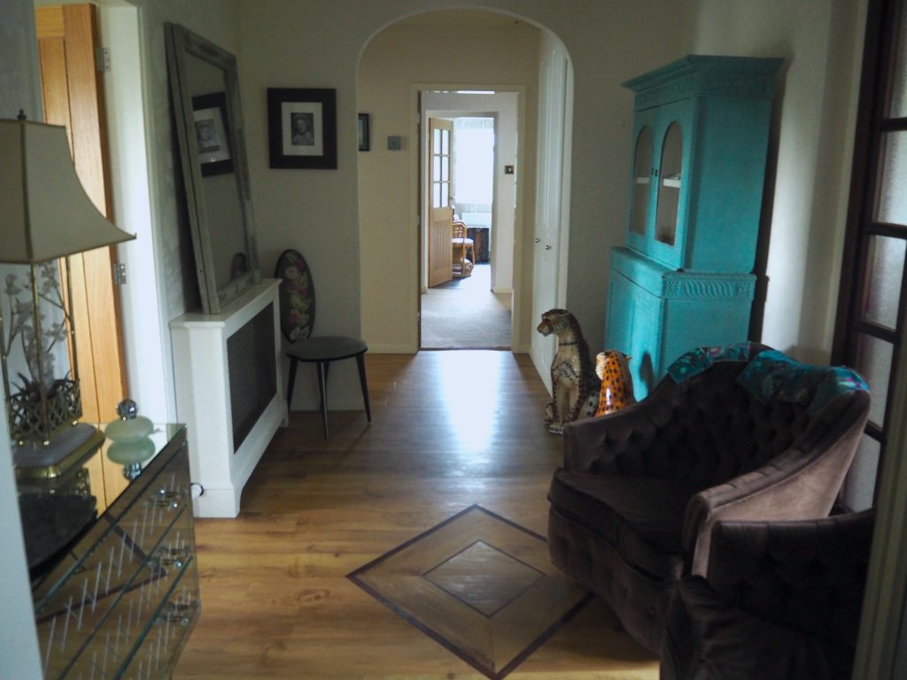 Hallway before renovating