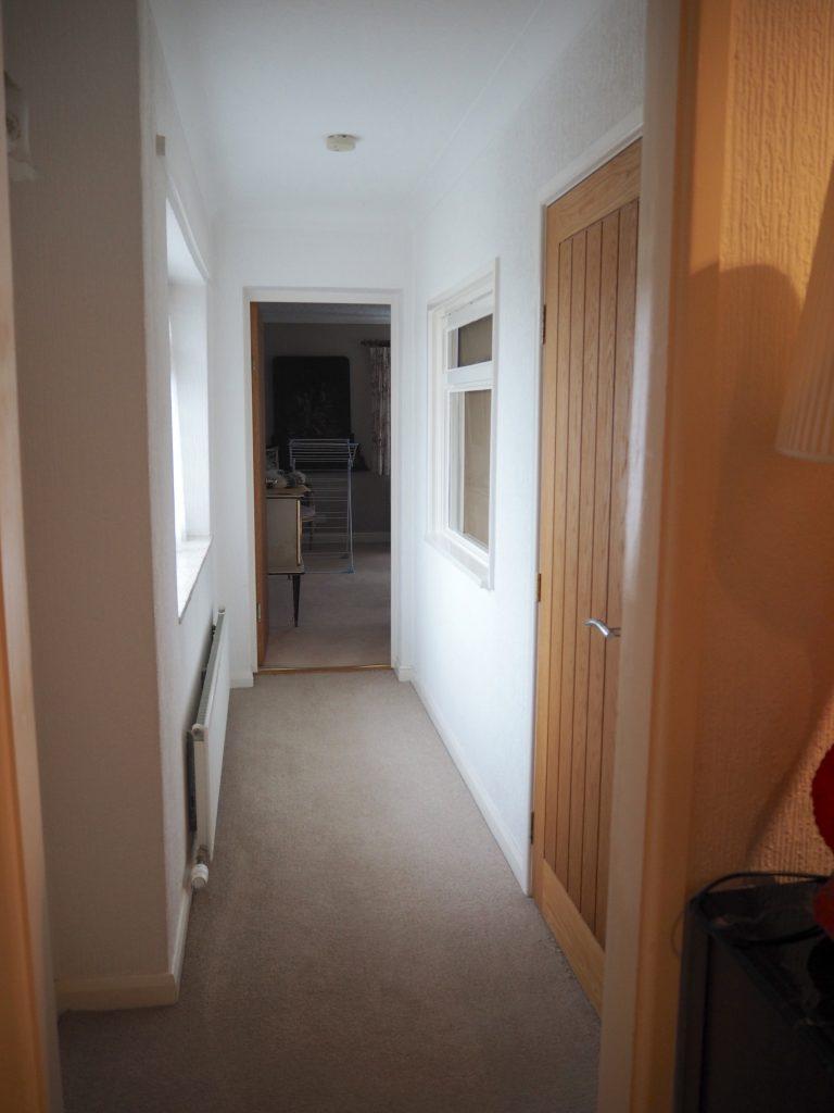 Corridor before renovating