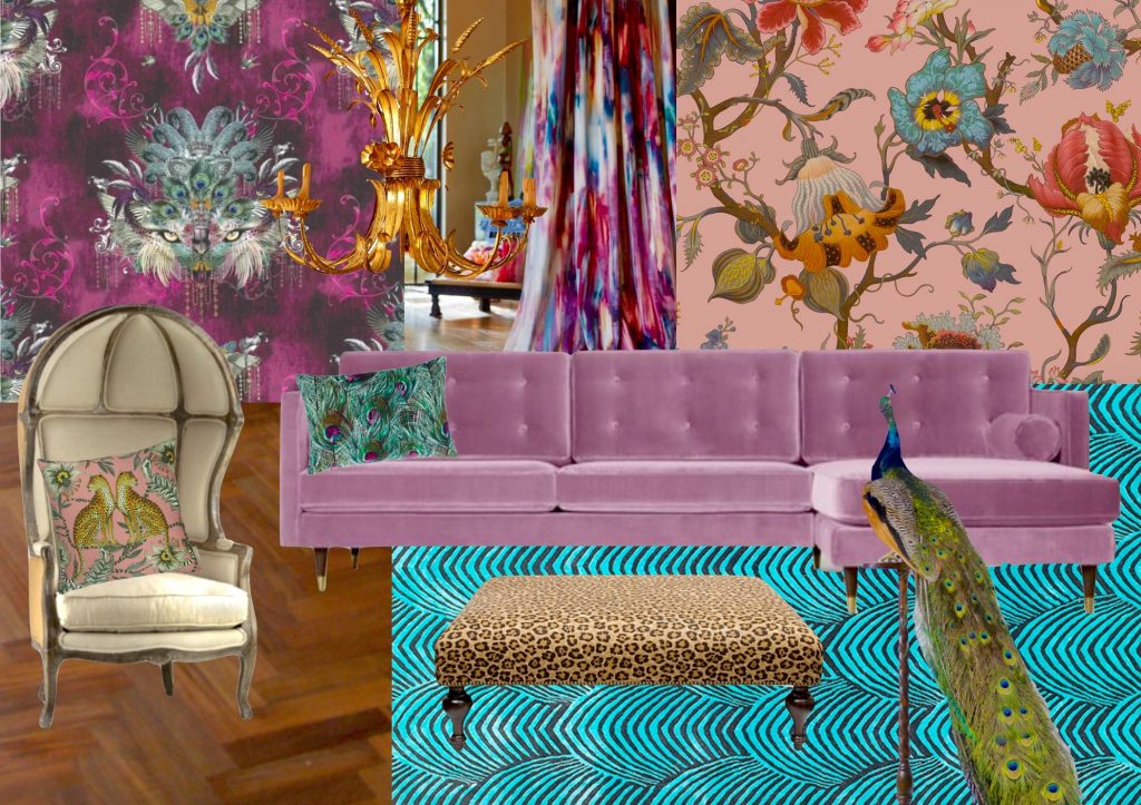 Lounge Mood Board created by Carnival Interiors