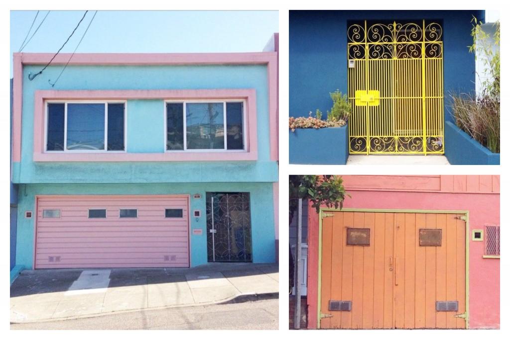 San Francisco colour blocking