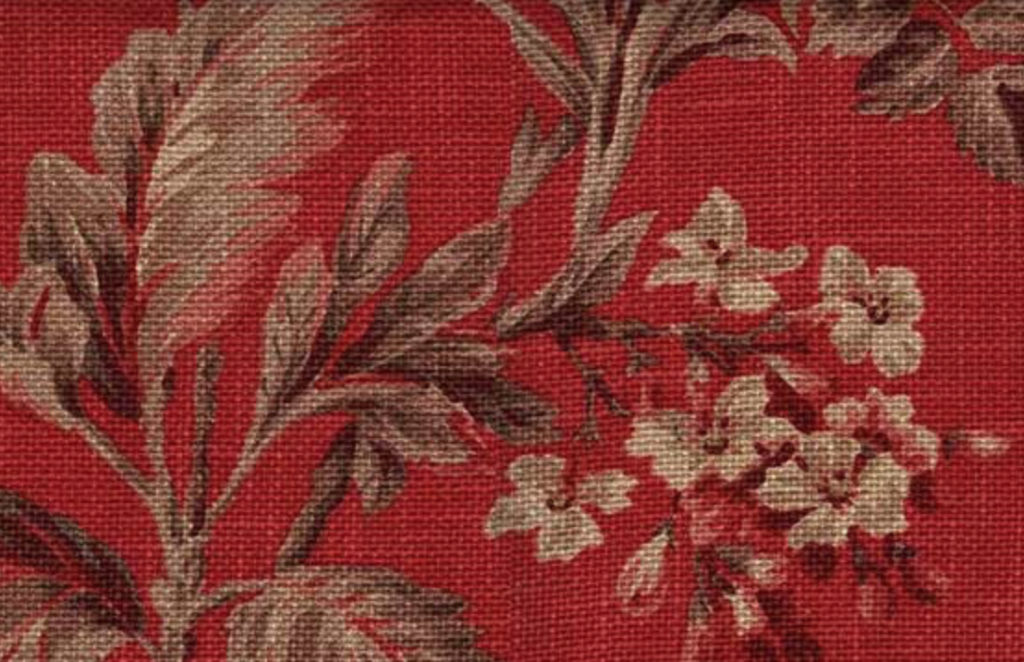 Andrew Martin red floral
