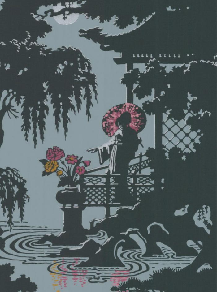 Cole & Son's geisha wallpaper