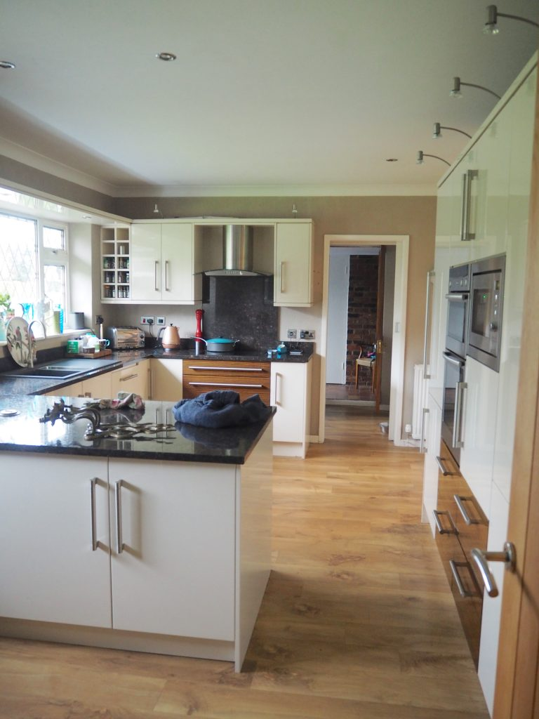 The kitchen before renovating