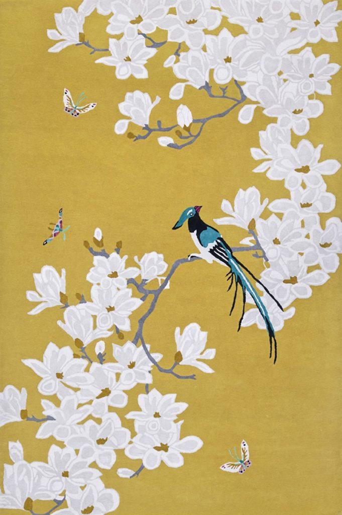 Magnolia rug by Wendy Morrison