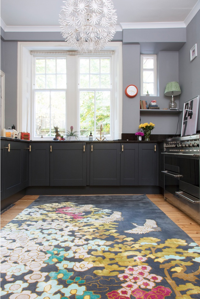Mount Orient rug from Wendy Morrison, situated in The Pink House
